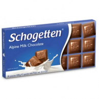 Шоколад Schogetten Alpine Milk Chocolate (100 грамм)