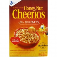 Сухой завтрак CHEERIOS HONEY NUT 306g