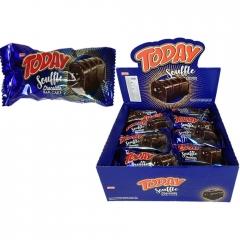 Кекс Today Cуфле-батончик с шоколадным кремом 45гр