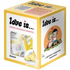 LOVE IS Банан 105г