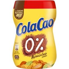 Какао напиток быстрорастворимый обезжиренный Cola Cao 0% azucares anadidos 300 гр