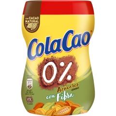Какао напиток быстрорастворимый Cola Cao Fibra 0% 300гр банка