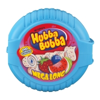 Wrigley Hubba Bubba Mega Long Chewing Gum Triple Mix 56 гр