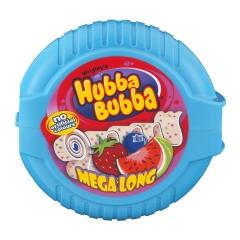 Wrigley Hubba Bubba Mega Long Chewing Gum Triple Mix 56 гр