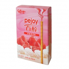 Pejoy со вкусом клубник/сливки 48g