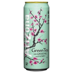 Напиток Arizona Green Tea with Ginseng 0,68л