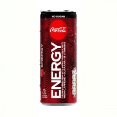 Coca Cola Energy ZERO 250ml ж/б