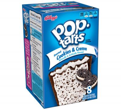 Печенье Pop Tarts 8 PS Frosted Cookies & Creme 400 грамм