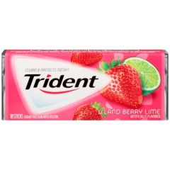 Trident Gum Island Berry Lime