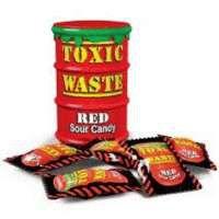 Кислые конфеты Toxic Waste красные 42 г