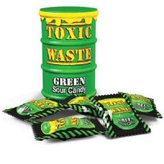 Кислые конфеты Toxic Waste зеленые 42 г