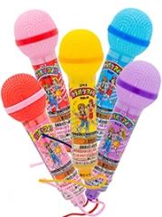 Coris Караоке-микрофон, с шипучими содовыми конфетами