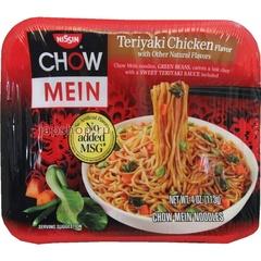 Лапша Chow Mein Nissin Курица с соусом Терияки (Teriyaki Chicken) 113гр