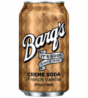 Barq's Cream Soda French Vanilla 0,355 литра