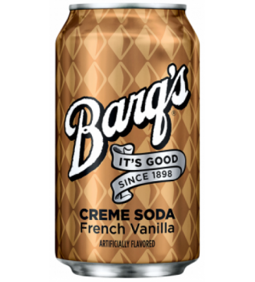 Barq's Cream Soda French Vanilla 0,355 литра
