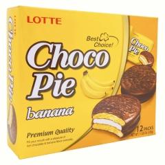 Банановые пирожные Choco Pie Lotte (336 грамм)