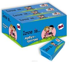 LOVE IS жев. конфеты со вкусом Арбуз-тропик 25 гр