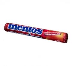 """Жевательная конфета """"Ментос со вкусом Корицы"""" (Mentos Cinamon) 37.5 гр"""