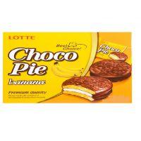 Банановые пирожные Choco Pie Lotte (168 грамм)