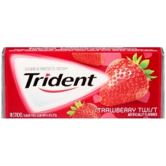 Trident Gum Strawberry Twist