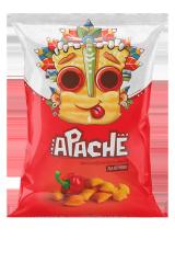 Пшеничные чипсы-ПОДУШЕЧКИ Apache (Армения)/Апачесо со вкусом Паприки 40 гр
