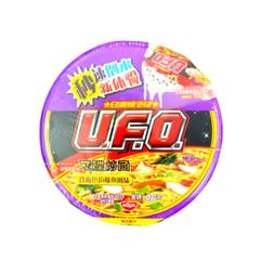 "Жареная лапша ""U.F.O"" со вкусом салата из кальмара 123 гр"