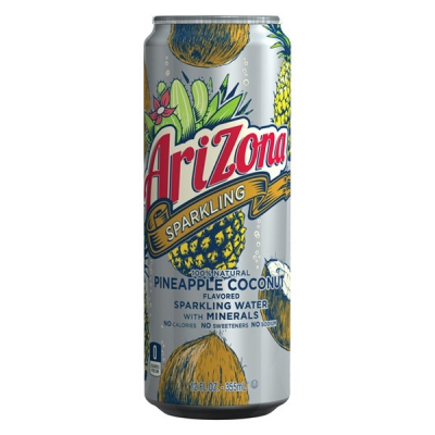 AriZona Sparkling Pineapple Coconut 0,355 ml
