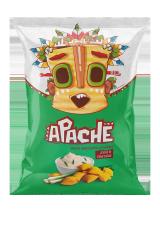 Пшеничные чипсы-ПОДУШЕЧКИ Apache (Армения)/Апачесо со вкусом Лука и Сметаны 40гр