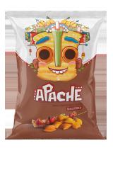 Пшеничные чипсы-ПОДУШЕЧКИ Apache (Армения)/Апачесо со вкусом Шашлыка 40гр