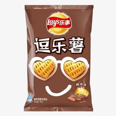 Чипсы «Lay's» в виде сердечек со вкусом говядины 70гр