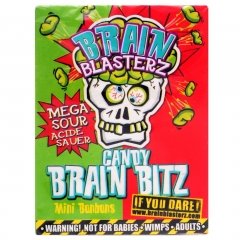 Brain Blasterz Brain Bitz Apple & Strawberry Flavour