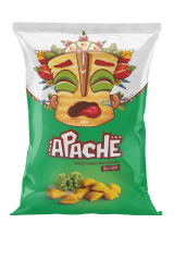 Пшеничные чипсы-ПОДУШЕЧКИ Apache (Армения)/Апачесо со вкусом Васаби 40гр