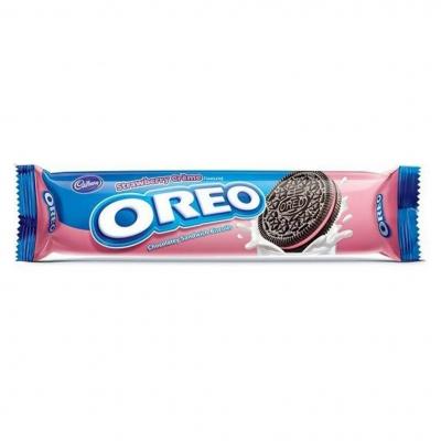 Печенье Орео Клубничный крем (137 грамм)