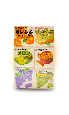"MARUKAWA ж\р ""Ассорти из 6 фруктовых вкусов"" 32,4 гр"