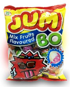 """Конфеты на палочке кола, клубника, лимон (пакет) """"Popza Jumbo Lollipop in Bag - Mixed fruits"""" 4 грамм"""