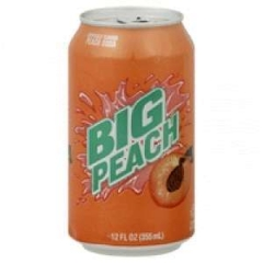 Big Peach Soda 0,355 ml
