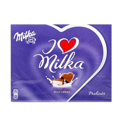 Конфеты  Milka I Love Milka Alpine Cream Pralines (120 грамм)