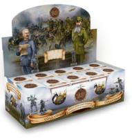 """Шоколадное яйцо с сюрпризом """"Солдатики. Первая мировая война"""" 20 грамм"""
