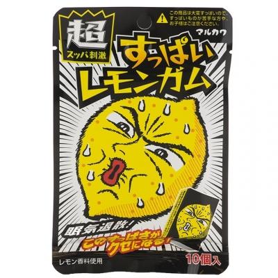 "Жевательная резинка ""MARUKAWA"" Марукава кислый лимон 41,5 гр"