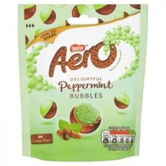 Nestle Aero Peppermint Bubbles 102g
