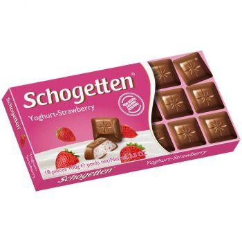 Шоколад Schogetten Yoghurt-Strawberry (100 грамм)