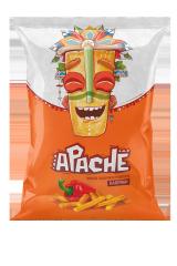 Пшеничные чипсы-ПАЛОЧКИ Apache (Армения)/Апачесо со вкусом Паприки 40 гр
