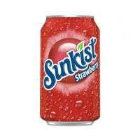 Sunkist Strawberry Soda 0,355 ml