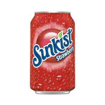 Sunkist Strawberry Soda 0,355 ml