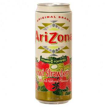 Напиток Arizona Kiwi Strawberry 0,68л