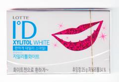 Жев. резинка ID White с ксилитолом, без сахара 25г