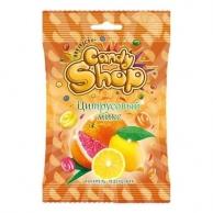 """Карамель леденцовая """"CANDYSHOP"""" ЦИТРУСОВЫЙ МИКС со вкусом: апельсина, лимона, грейпфрукта 80 гр"""
