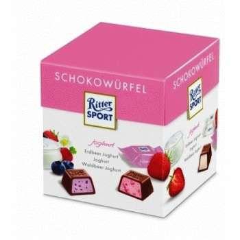 Ritter Sport Choco Cubes Yoghurt 176 грамм