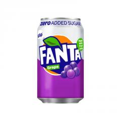 Fanta Grape Zero 330ml ж/б