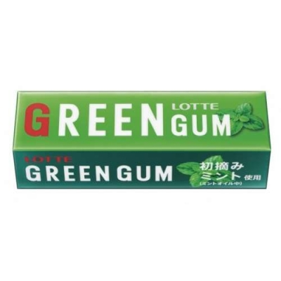 Жев.резинка LOTTE GREEN GUM 31 гр